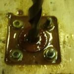 Изготовление опор из полибетона