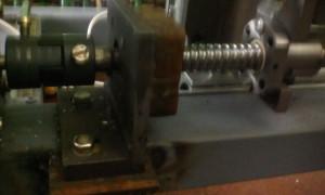 Крепление двигателя координаты Y