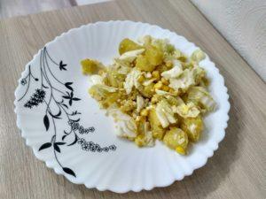 готовый салат-гарнир
