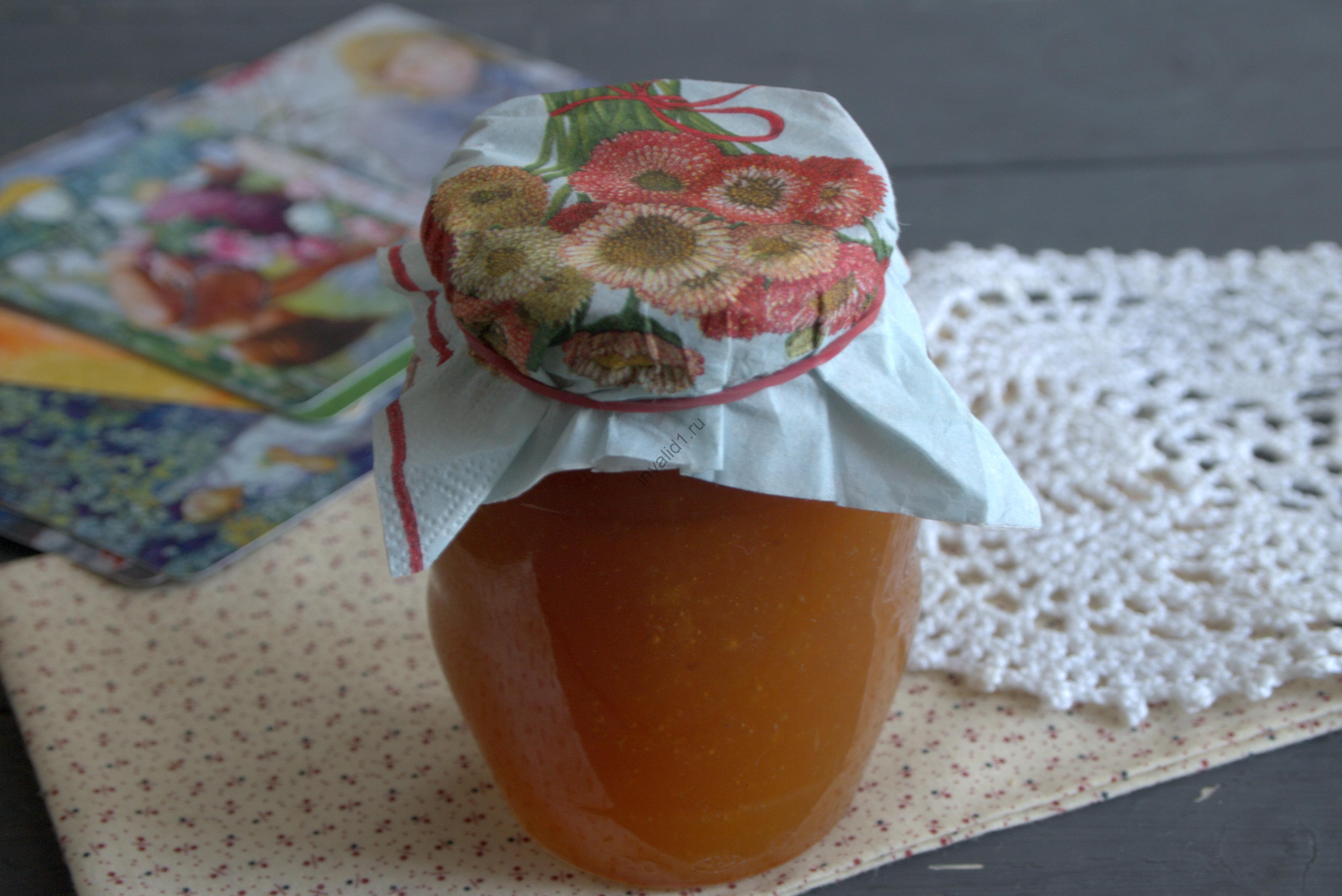Персиково-дынный джем на зиму